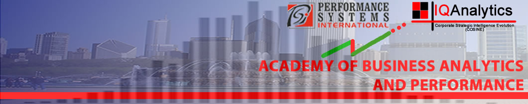 Academy of Business Analytics and Performance